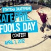 Skatepril Fools Day
